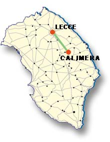 Cartina di Calimera