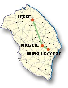 Cartina di Muro Leccese