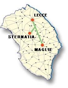 Cartina di Sternatia
